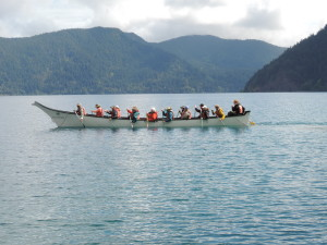 Our mini 'paddle journey on Lake Crescent