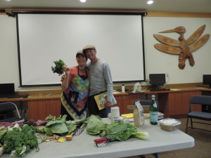 Healthy Cooking with Kia from Nash's Organic Produce — with Kia Armstrong.